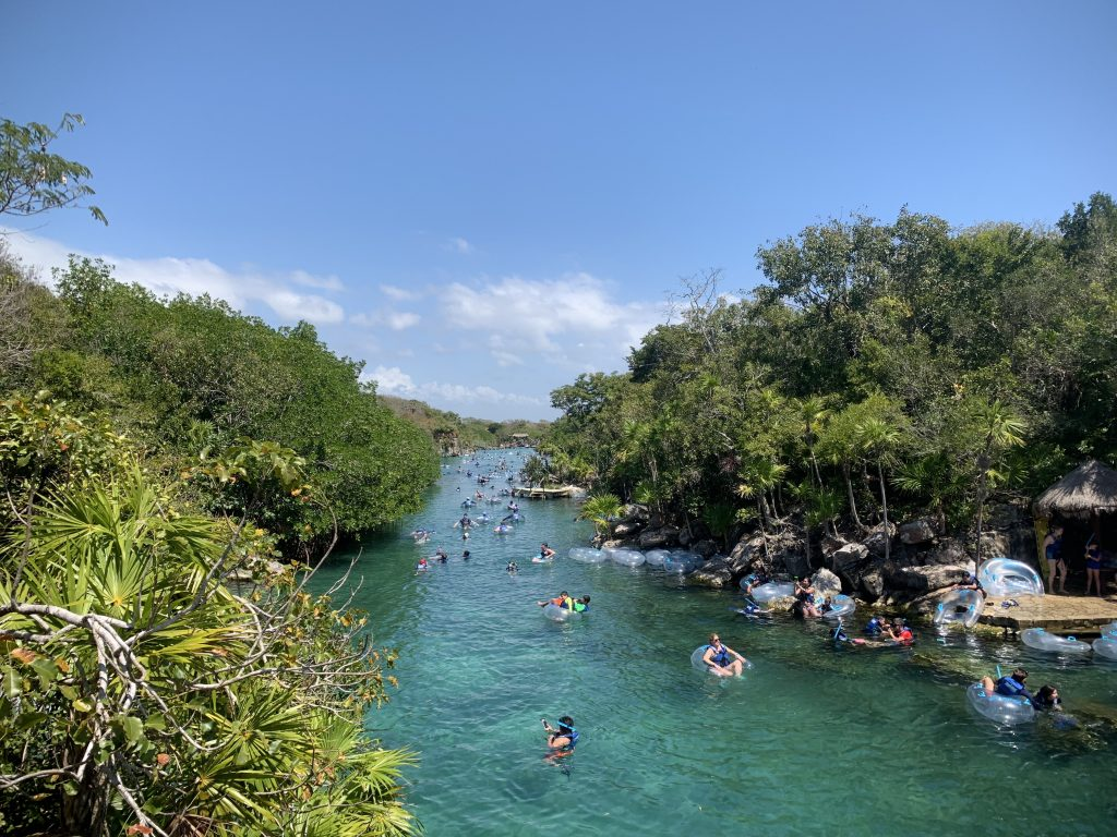 Xel-ha in Mexico's Riviera Maya