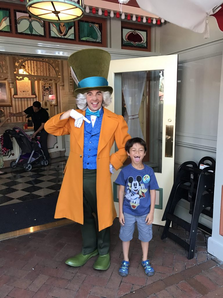 Mad Hatter at Disneyland