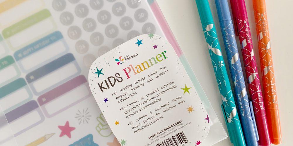 Erin Condren New Kids Planner
