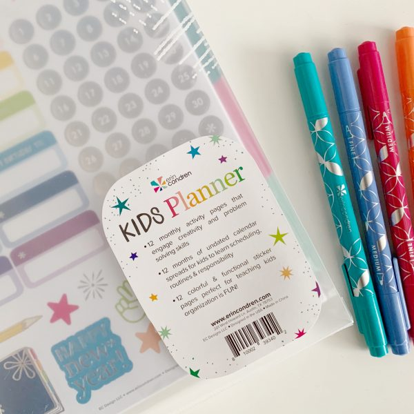 Erin Condren New Kids Planner