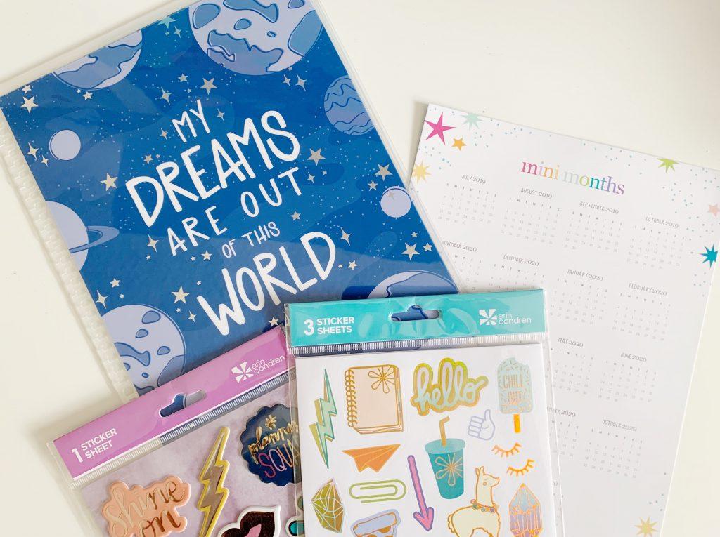 Interchangable Kids Planner Cover