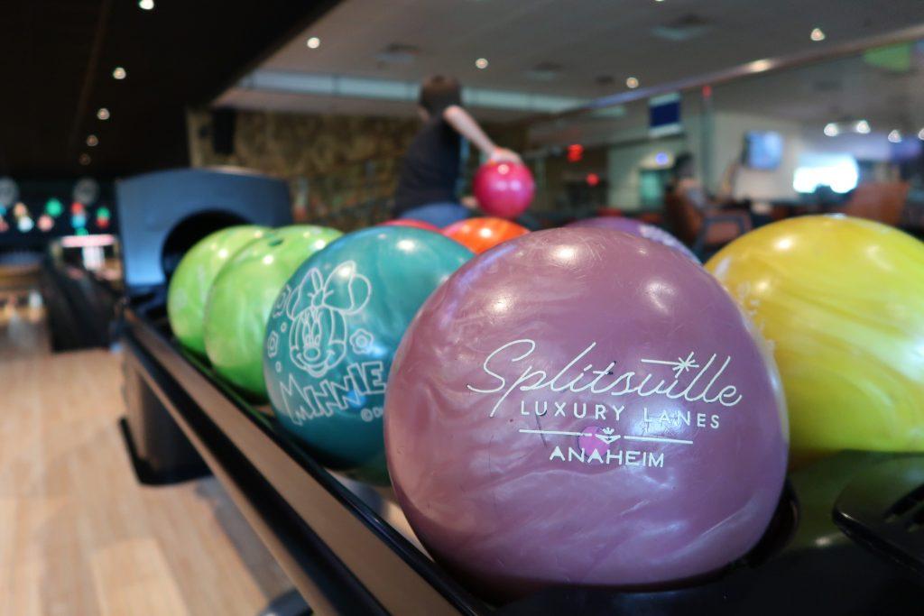 Bowling at Splitsville Anaheim CA