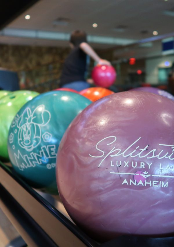 Family Bowling at Splitsville Anaheim