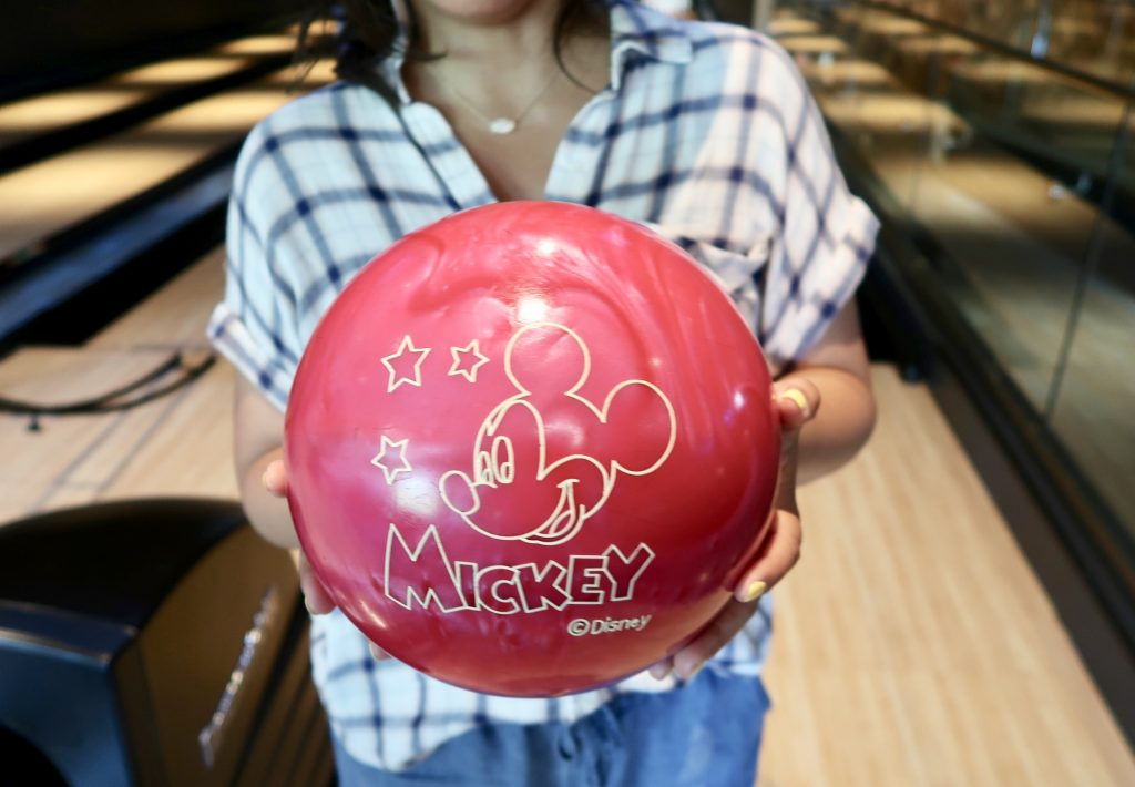 Mickey Mouse Bowling Ball