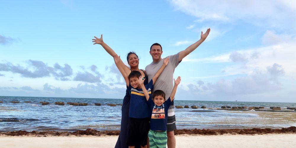 Family Trip to Riviera Maya