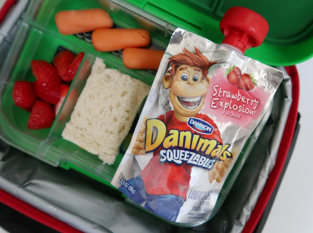 Back-to-School Tips with Danimals Squeezables.