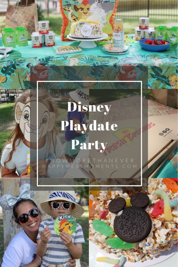 Disney Playdate Party