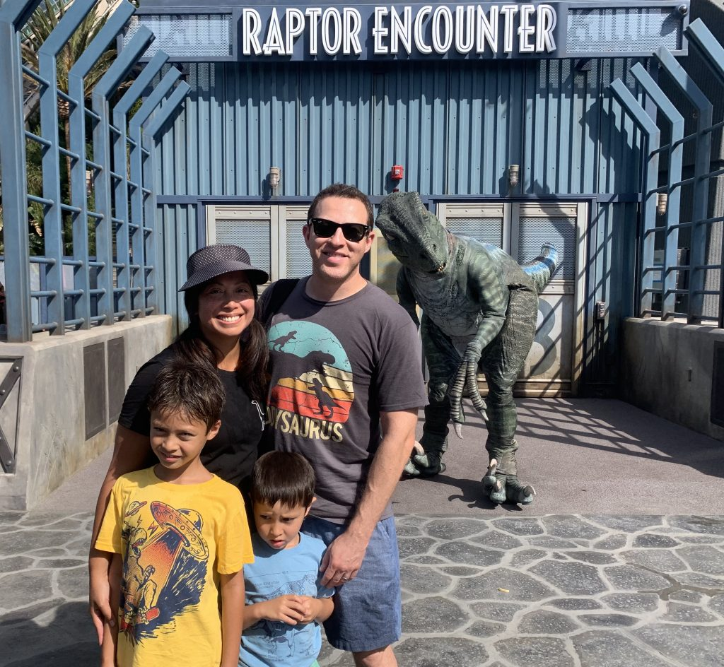 Jurassic World The Ride Raptor Encounter
