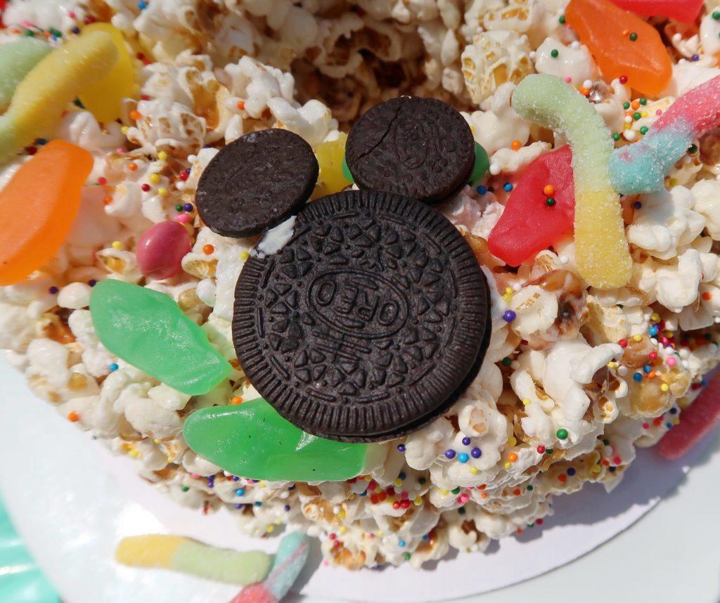 Disney inspired Popcorn cake