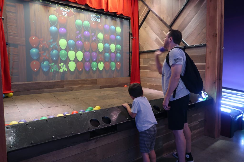 Immersive Midway Games