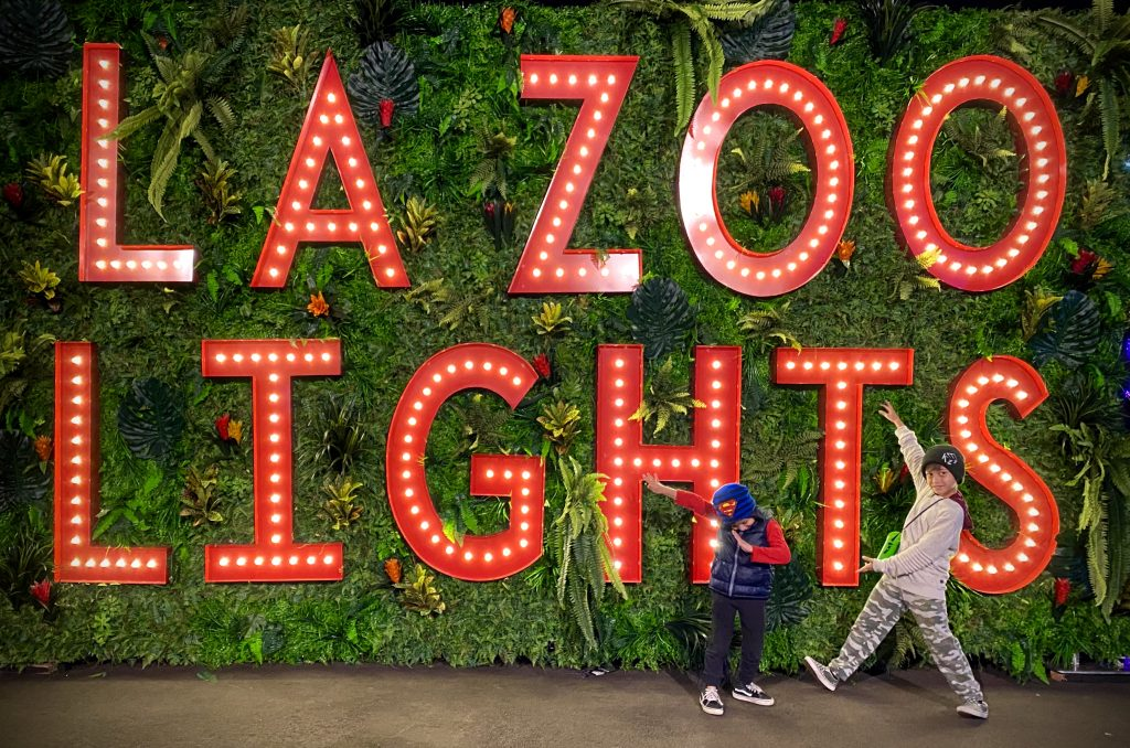 L.A. Zoo Lights 2019