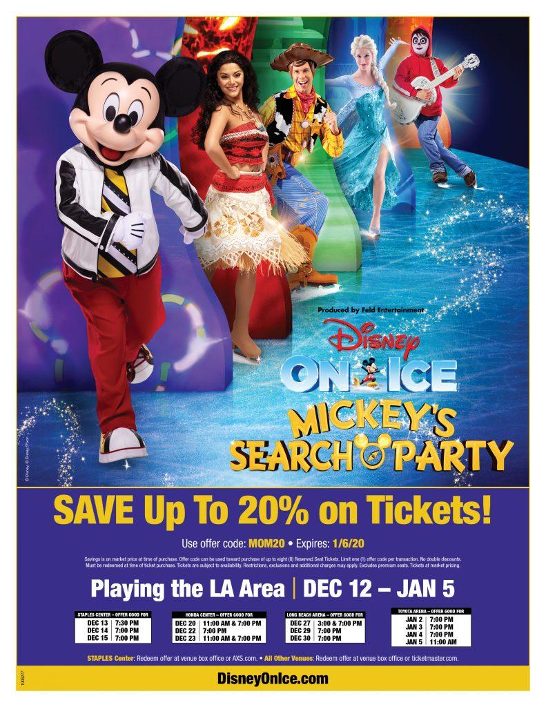 Disney on Ice Discount Code
