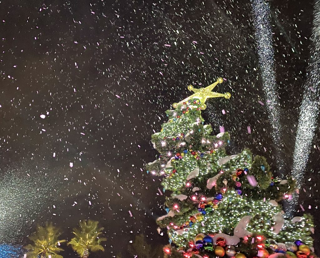 Grinchmas Tree Ceremony