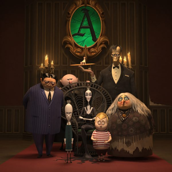 The Addams Family on Blu-ray, DVD, and Digital