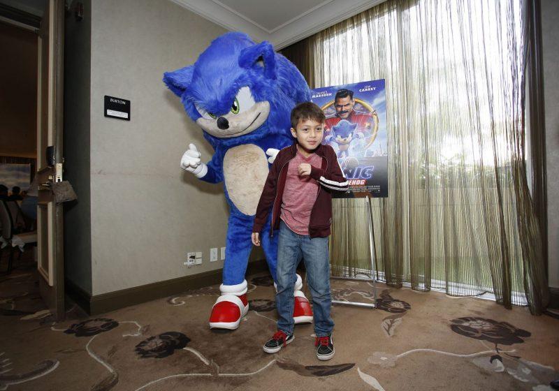 Sonic the Hedgehog Movie: Junket + Review