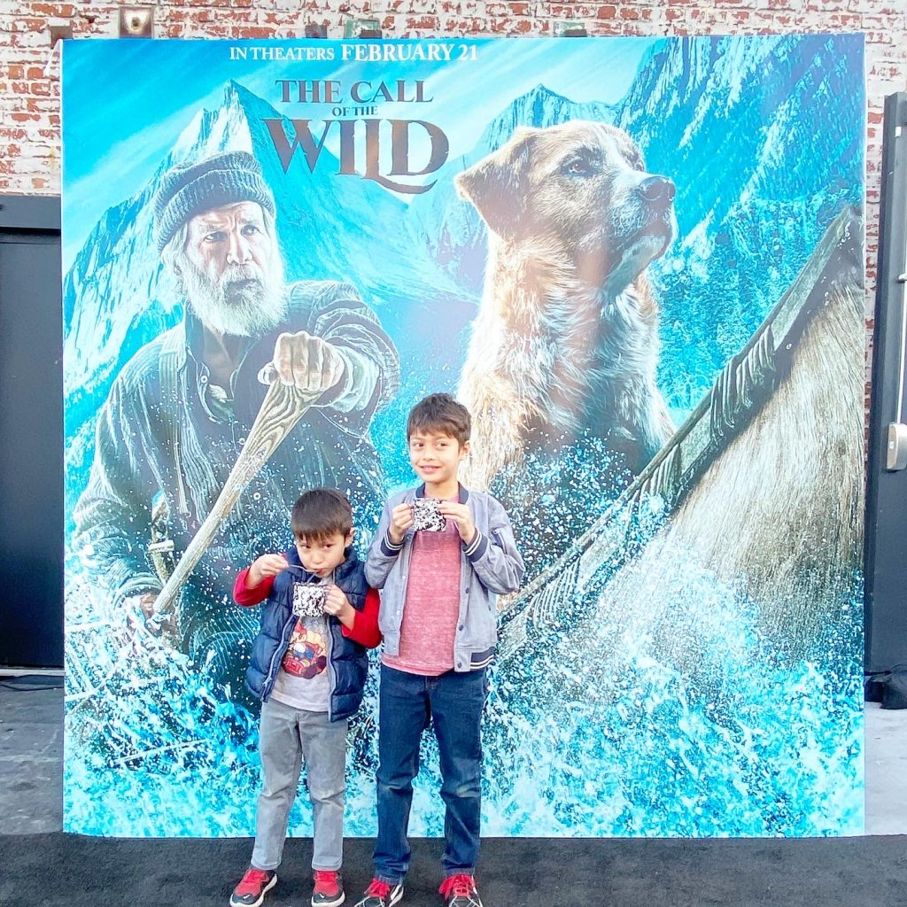 The Call of The Wild Family Screening at Goya Studios.