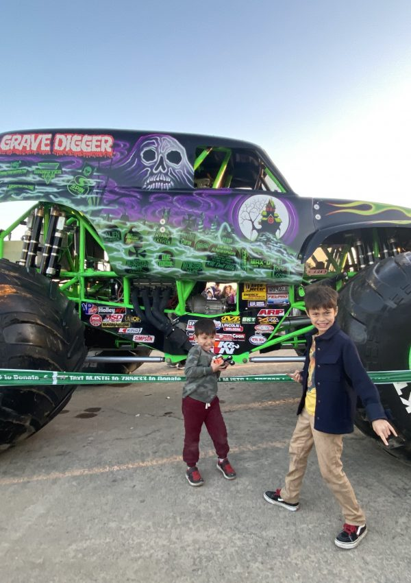Monster Jam, Angel Stadium 2020