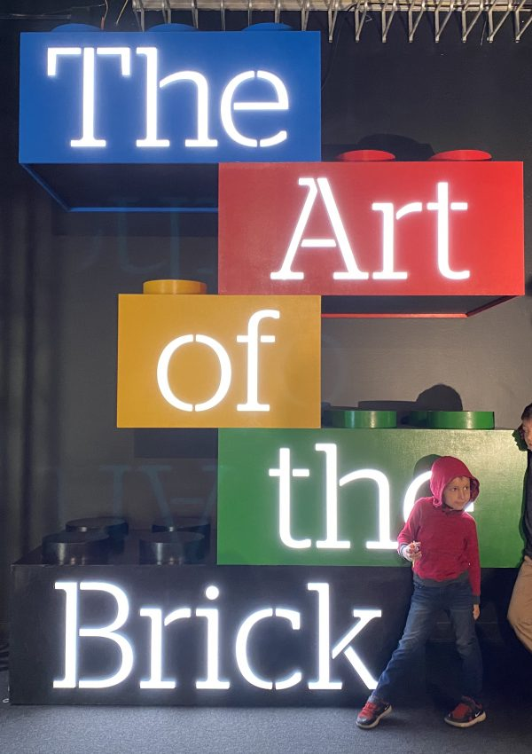 A Visit to The Art of the Brick