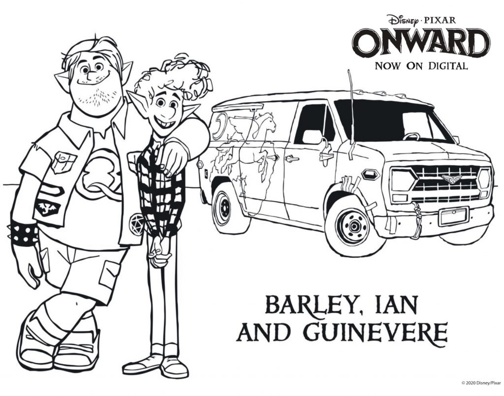 Onward Coloring Sheet
