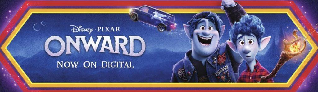 Disney Pixar Onwards on Digital