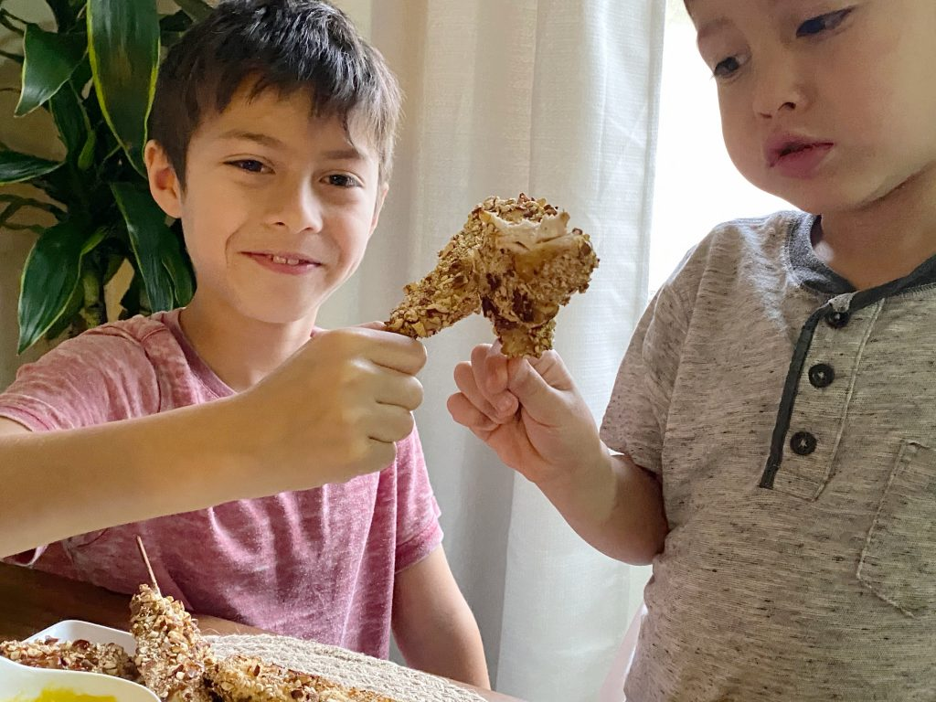 Kid Friend Chicken Skewer Recipe