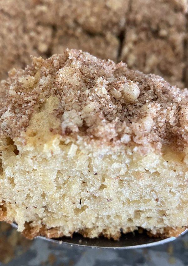 LAUSD's Old Fashioned Coffee Cake Recipe
