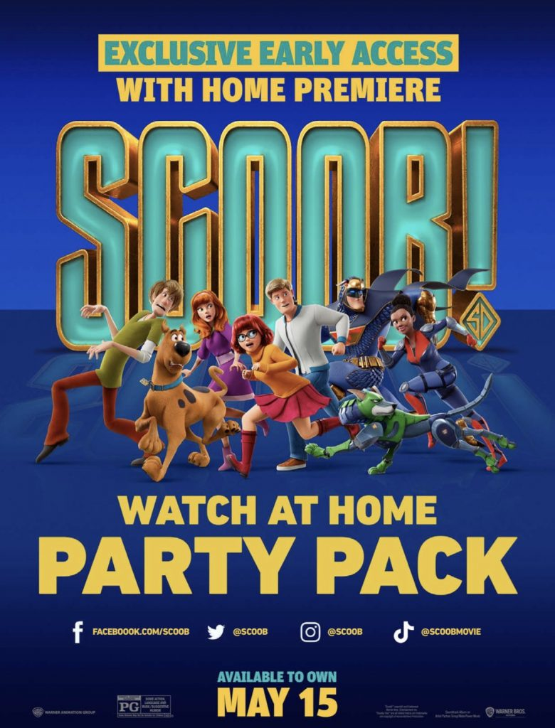 SCOOB Party Pack Activity Sheets