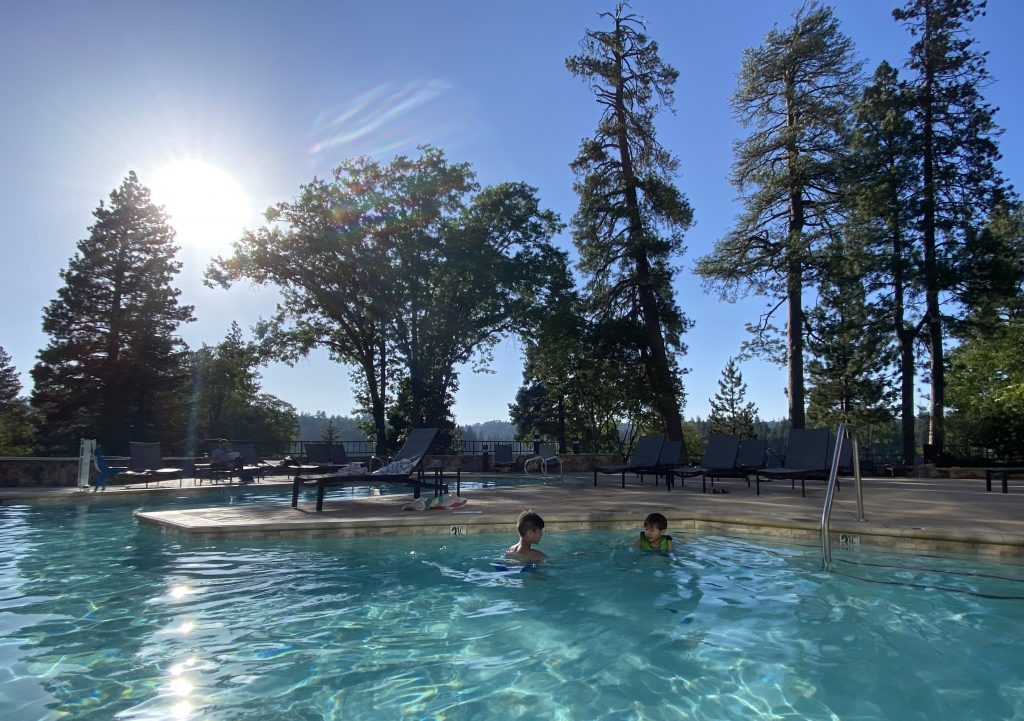 Pool at Lake Arrowhead Resort