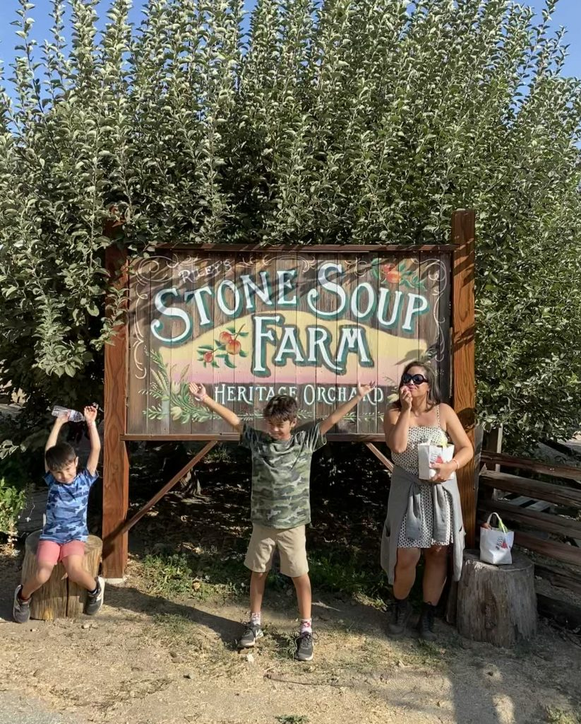 Stone Soup Farm in Oak Glen