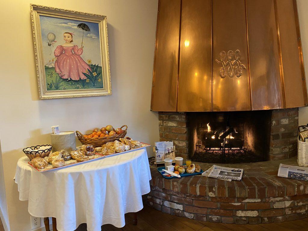 Hofsas House Continental Breakfast