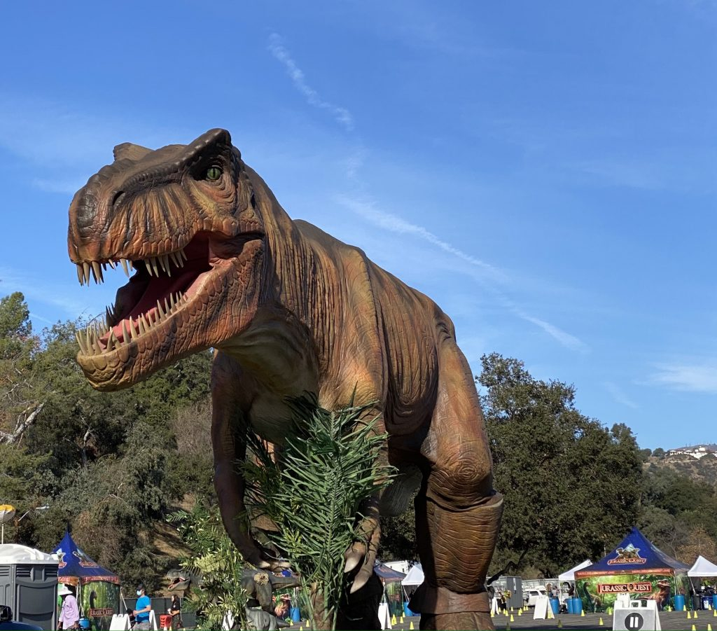 T-rex at Jurassic Quest