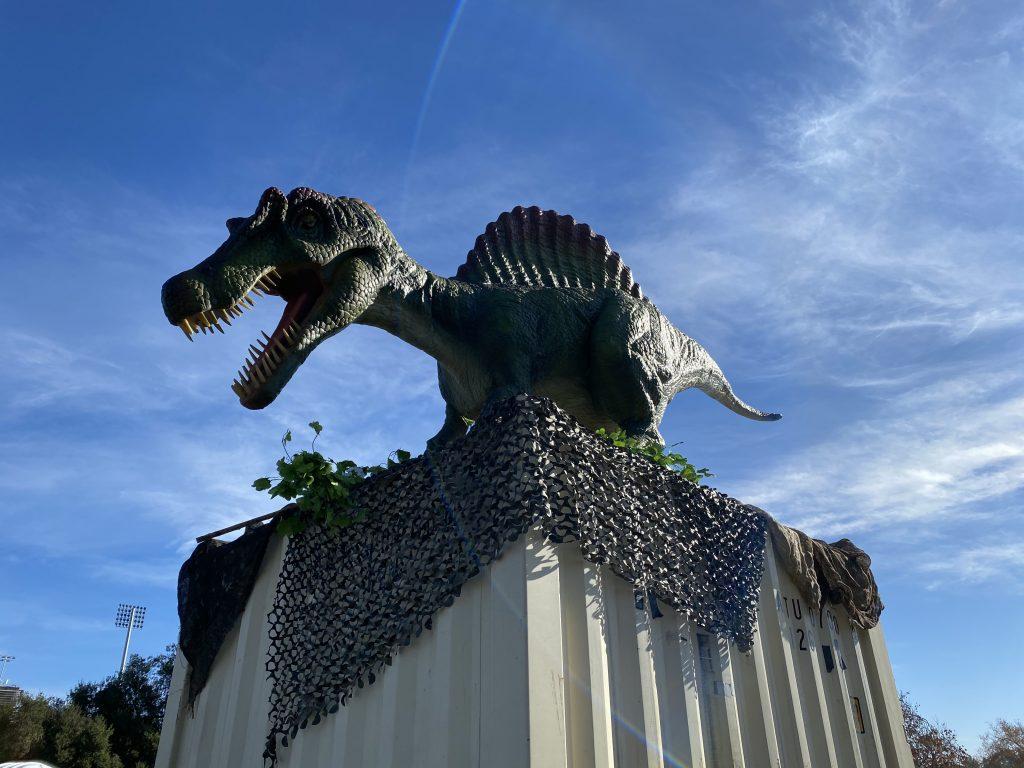 Spinosaurus at Jurassic Quest