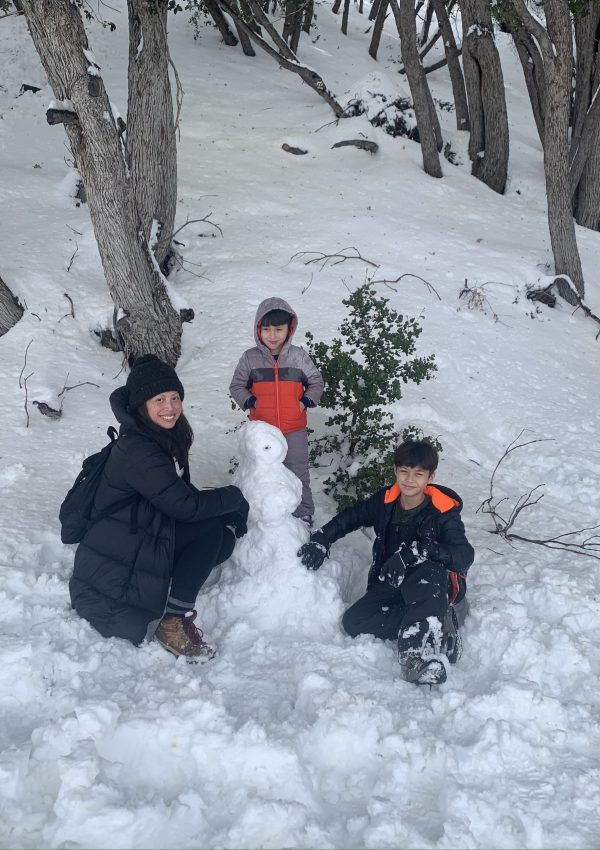 Snow Play in Wrightwood