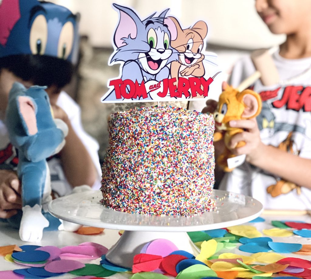 Tom and Jerry The Movie Cake