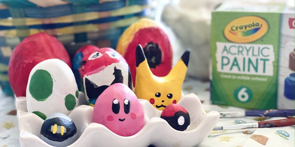 DIY Nintendo Easter Eggs