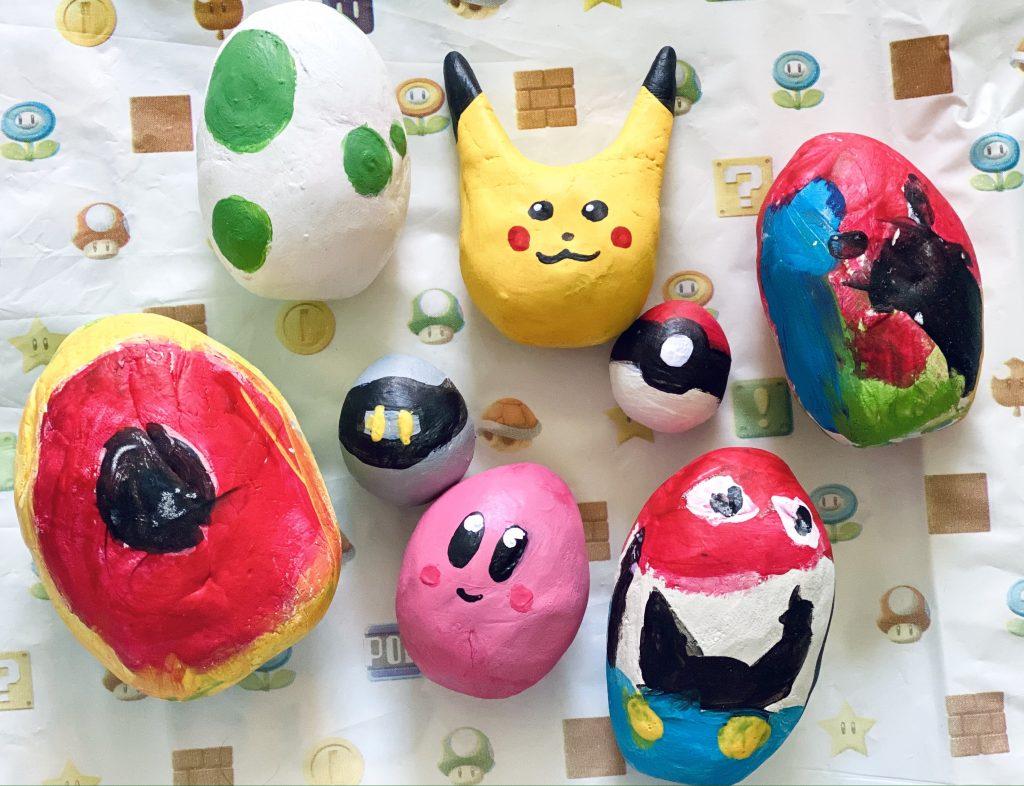 Nintendo Inspired Eggs