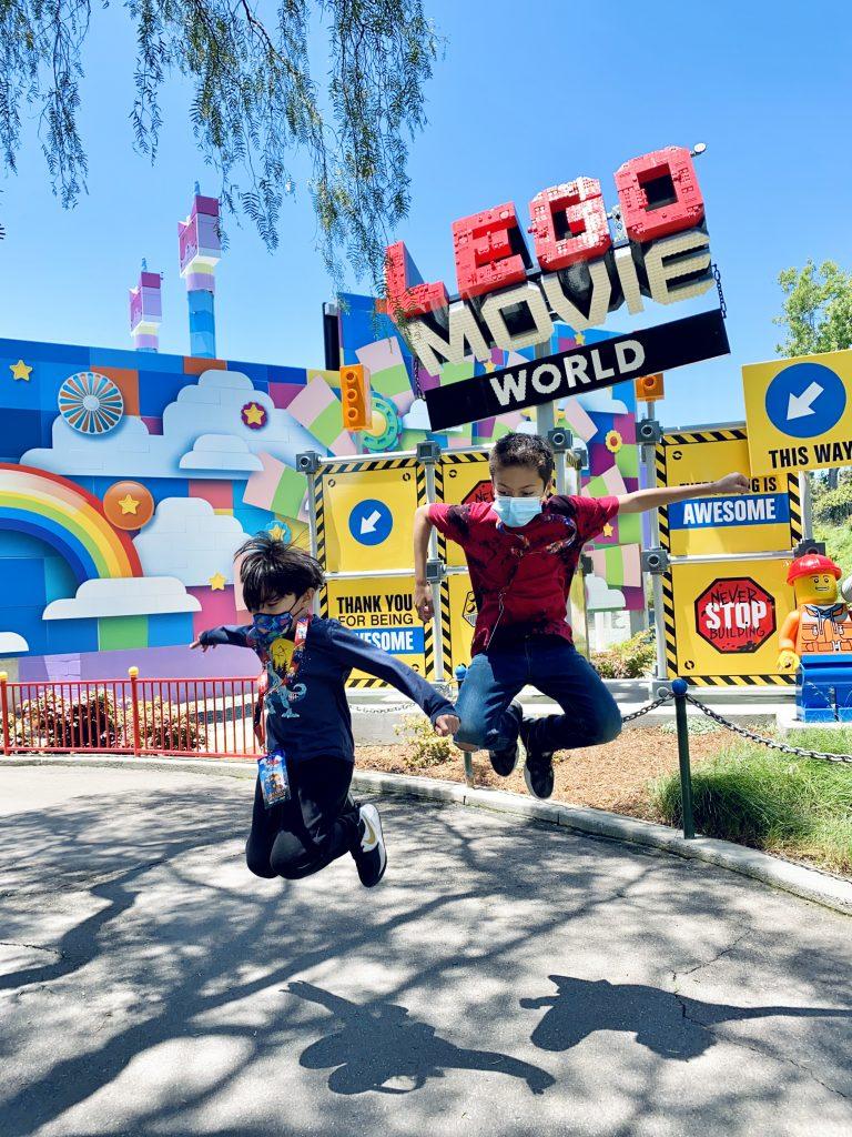 The LEGO Movie World LEGOLAND CA