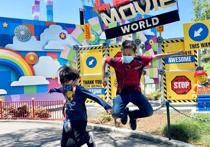 The LEGO Movie World at LEGOLAND