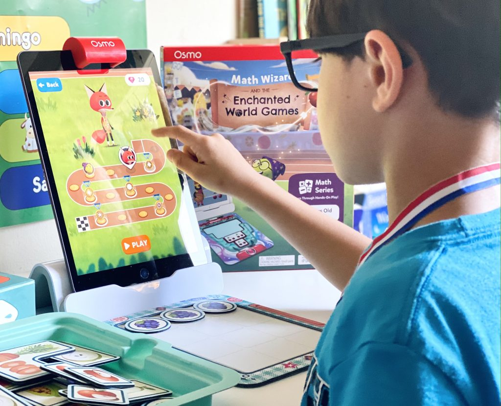 Osmo Math Wizard and The Enchanted World Games