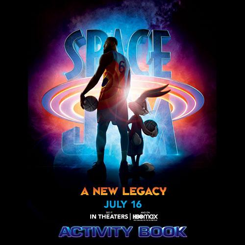 Space Jam Activity Book