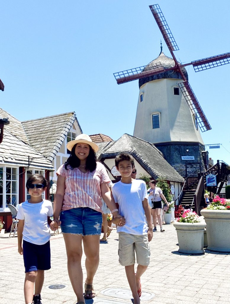Road Trip to Solvang with Kids
