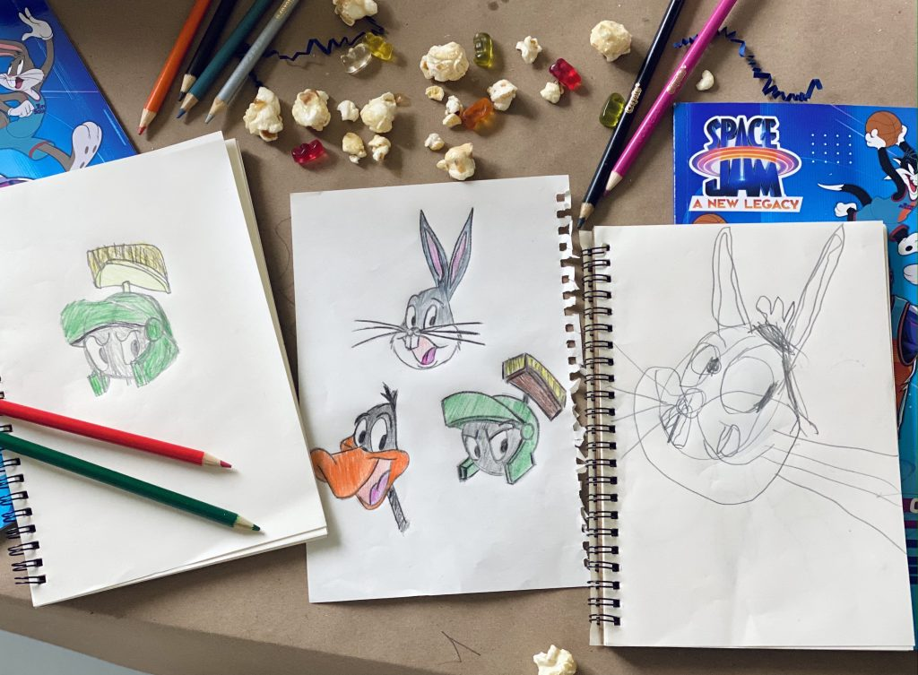 Learning how to draw the Looney Tunes