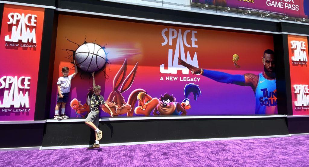 Space Jam Fan Experience at LA Live